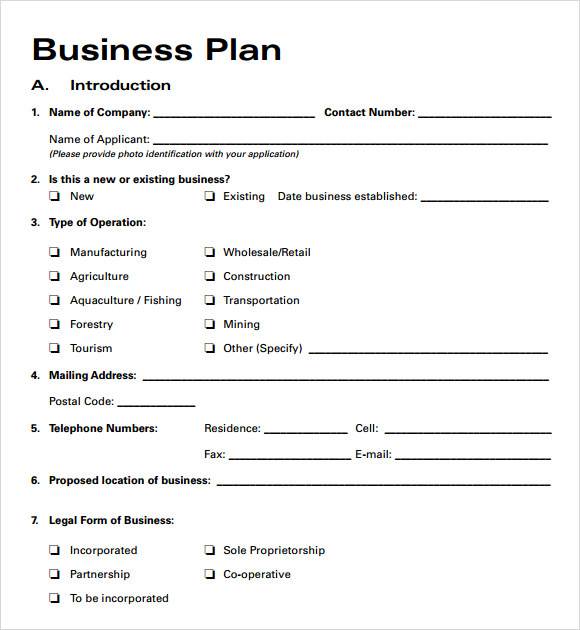 Business plan outline for security company