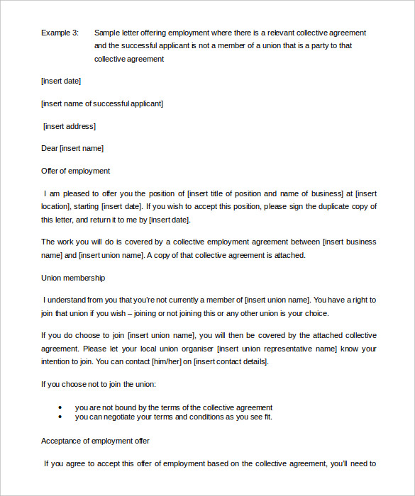 Download-Member-of-a-Union-Appointment-Letter-Template
