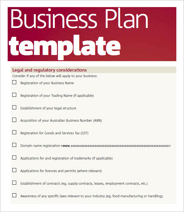 Business Plans Software – Software Business Plan Template