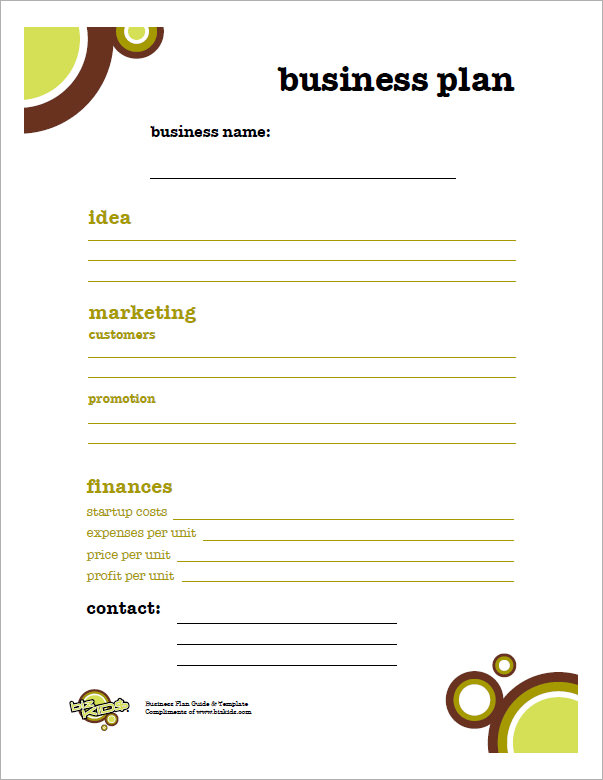 sales-Simple-Business-Plan-Template